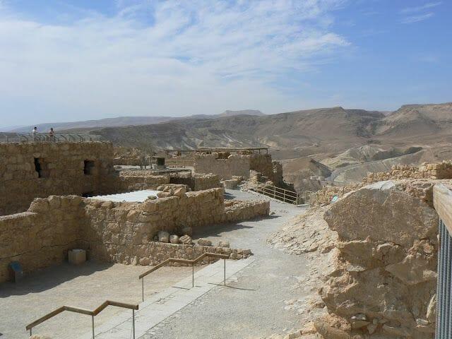 edificaciones de masada