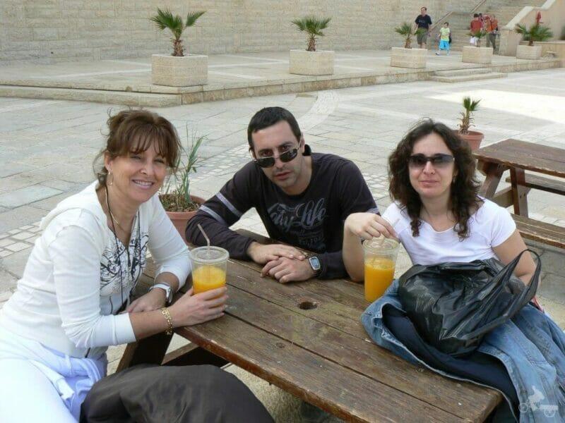 descanso en el bar de Masada