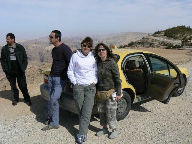 taxi eilat a Petra