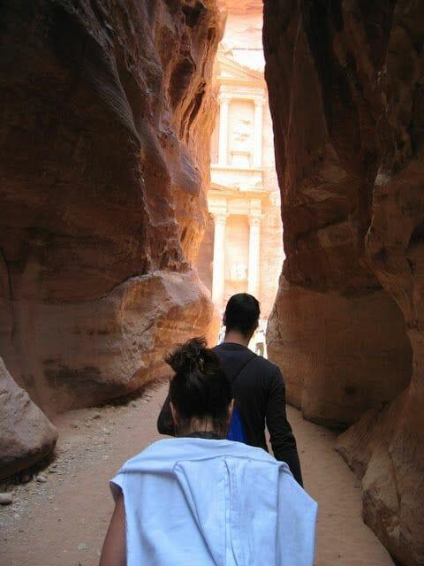 templo entre montañas petra