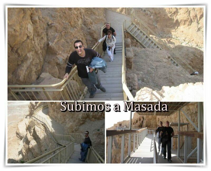 Excursión a Masada y al Mar Muerto