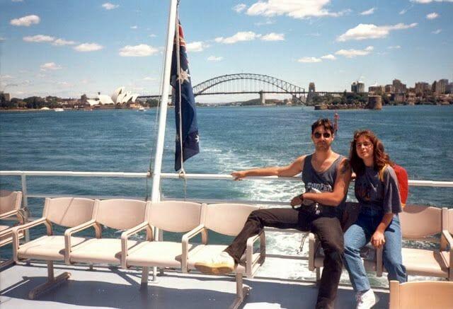 paseo en barco por la bahía de Sidney