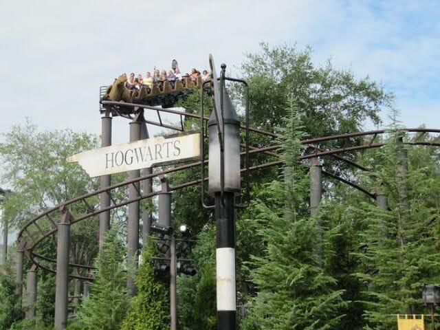 El vuelo del Hipogrifo Harry Potter Orlando