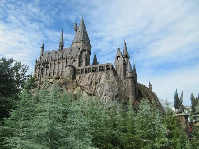 castillo Harry Potter Universal