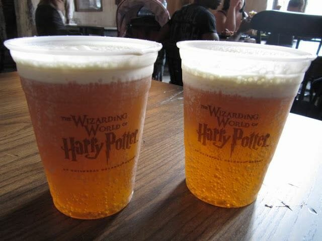 cervezas de mantequilla de Harry Potter Orlando
