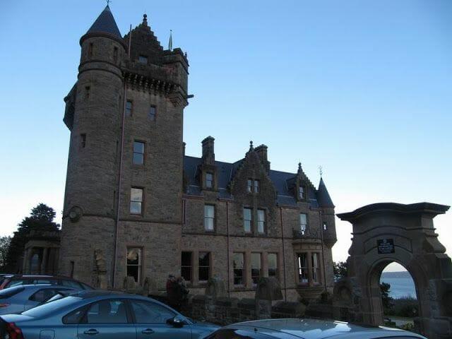 castillos de irlanda del norte