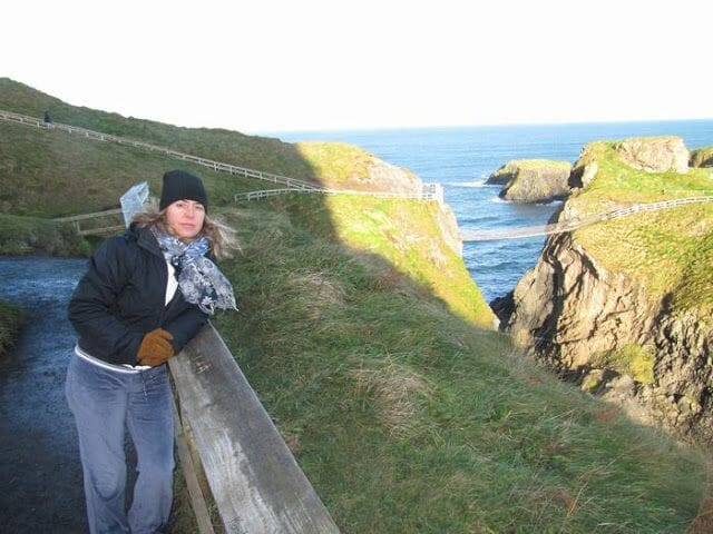 Puente Carrick-a-Rede rope bridge