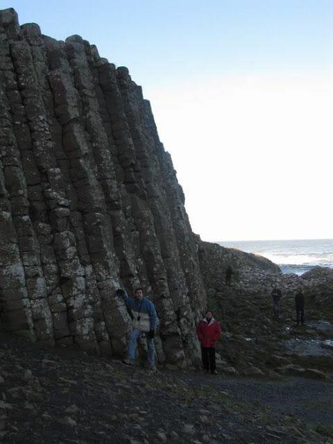 columnas de basalto calzada del gigante