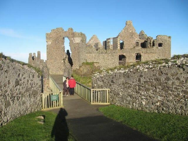 castillo de Dunluce - calzada de los Gigantes