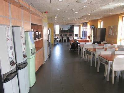 comedor albergue Urbany