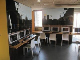 albergue Urbany ordenadores