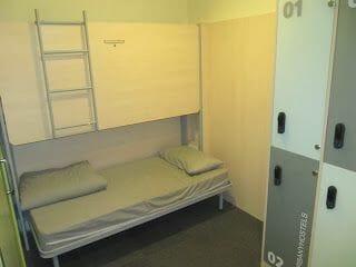 albergue Urbany camas