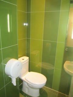 albergue Urbany wc