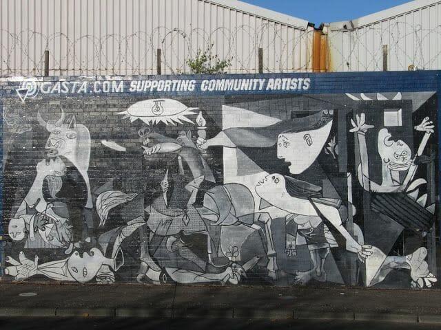 guernika murales belfast