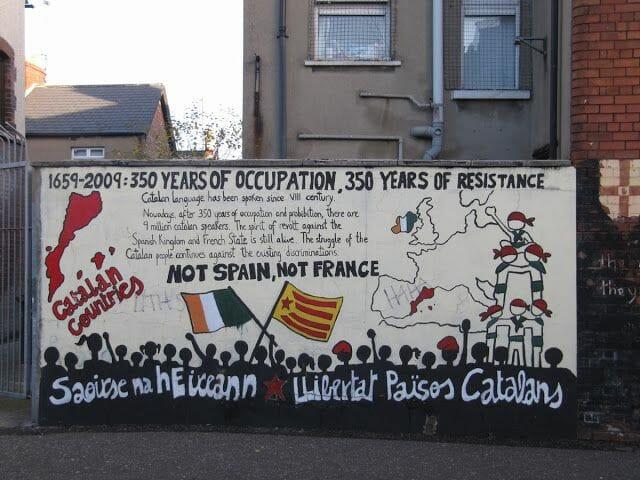 paisos catalans murales belfast