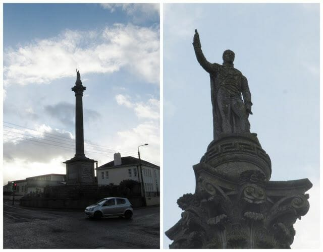 columna dedicada al Duque de Wellington de trim