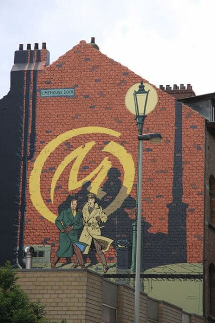 Mural Jacobs - BlaKe and Mortimer
