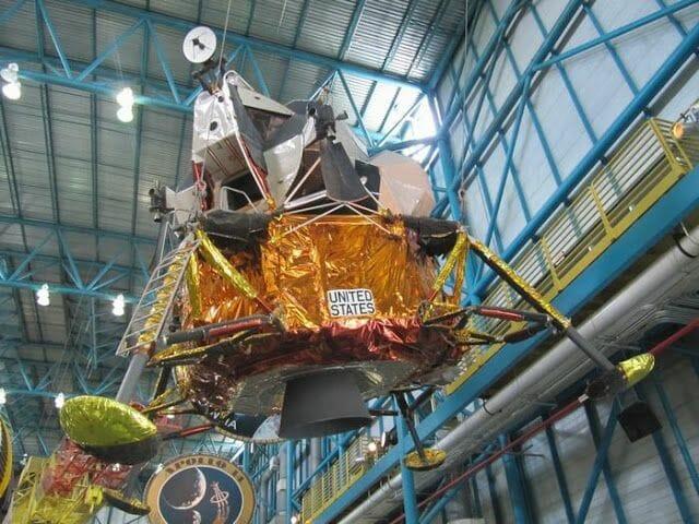 modulo lunar de la NASA
