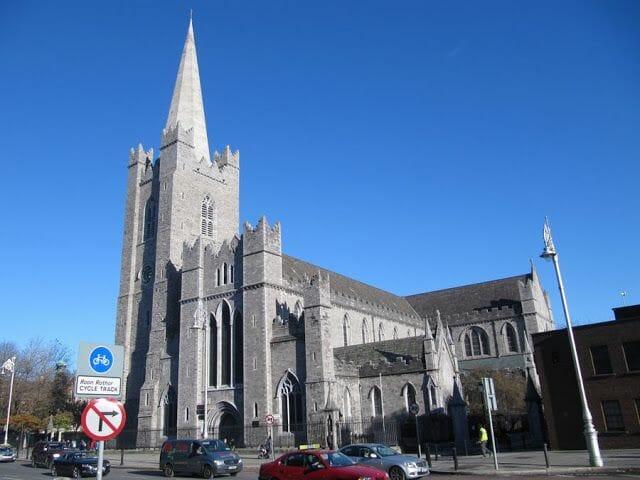 catedral de Saint Patrick - qué visitar en Dublín en un día