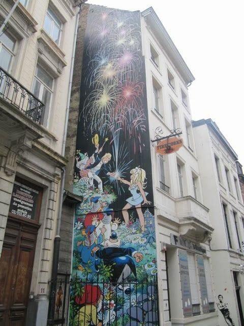Mural Dany - Olivier Rameau