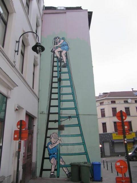 Mural Mitacq - La Patrulla de los Castores
