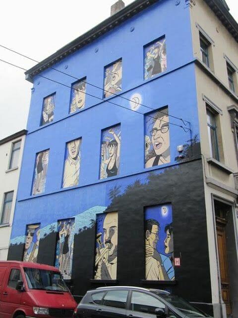 Mural Taymans & Wesel - Caroline Baldwin