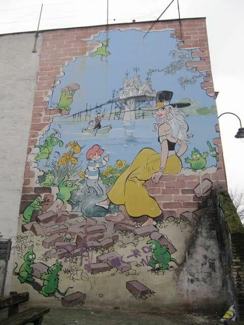 Mural Will - Isabelle et Calendula