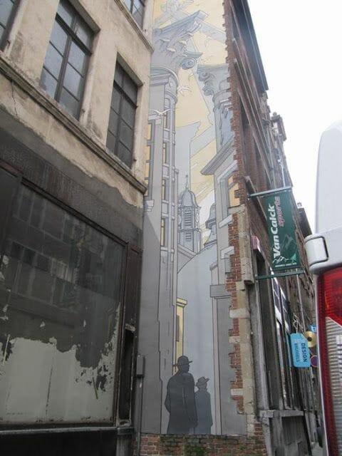 Mural Schuiten - Le Passage