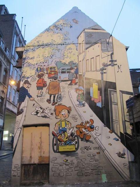 Mural Roba - Boule et Bill