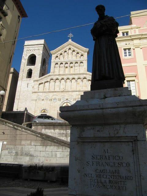 san fracisco asís qué ver en Cagliari