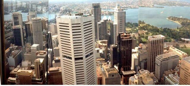 vistas desde torre de Sydney