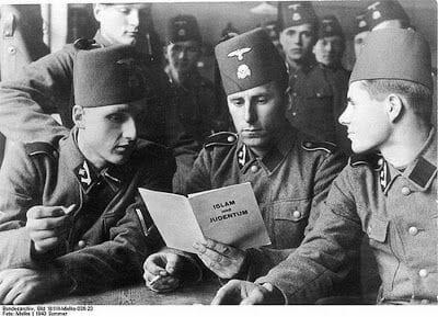 soldados alemanes musulmanes