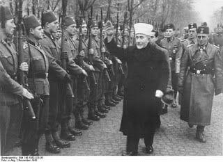 hajj amin al husseini muftí jerusalén y ss alemanes