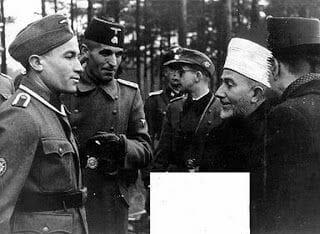 muftí jerusalen y ss alemanas