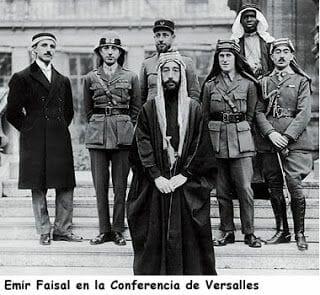 Emir Faisal conferencia de Versalles