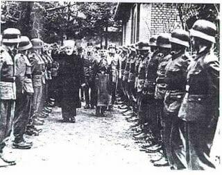 muftí jerusalén y ss alemanes. Hajj Amin al Husseini