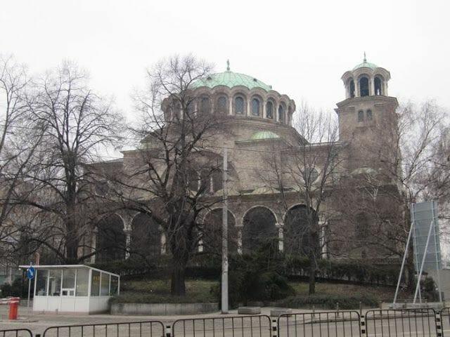 catedral Sveta Nedelya en Sofía