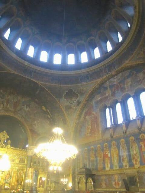 interior de Sveta Nedelya