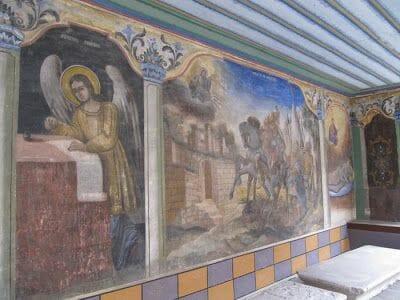 pinturas Iglesia de San Constantino y Elena