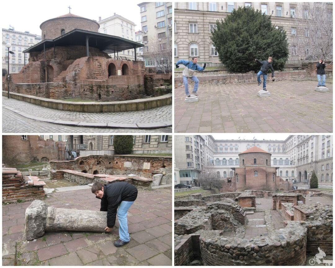 ruinas romanas de sofia