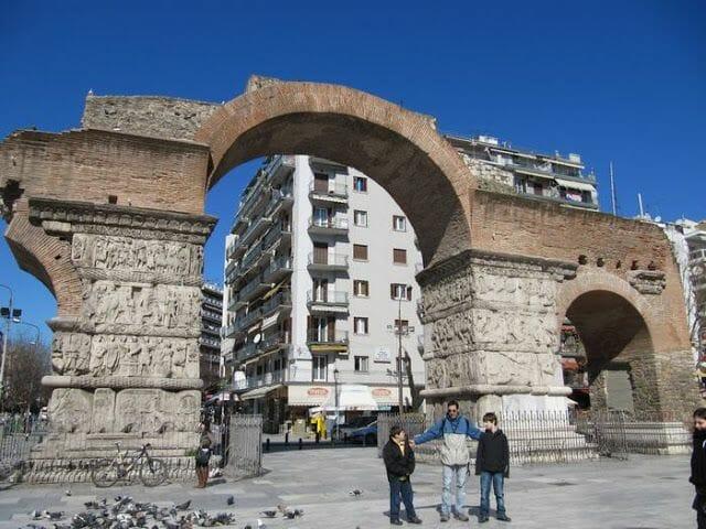 Arco de Galerio de Tesalónica