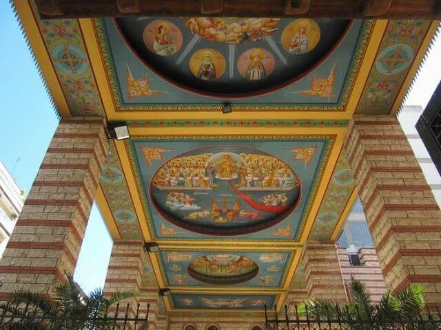 iglesia monasterio Iera Moni Agias Theodoras
