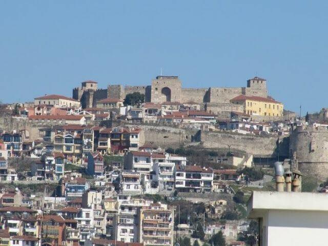 vistas desde la Torre Blanca de Salonica