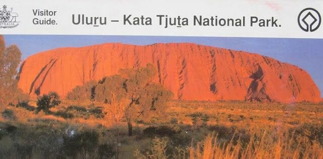 Escalar Uluru, Ayers Rock, Australia