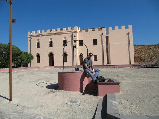 castillo de Salvaterra en Iglesias
