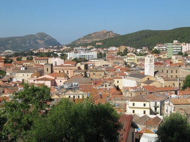 pueblo de Iglesias en Cerdeña