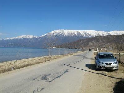 Lago Ohrid en Albania