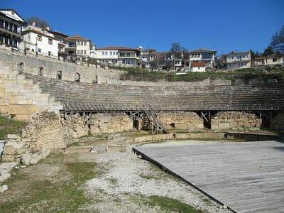 Teatro griego que ver en Ohrid