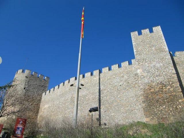 Fortaleza de Samuel ohrid