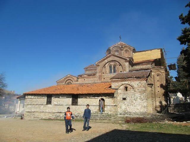 Iglesia Sv. Bogorodica Peribleptos ohrid